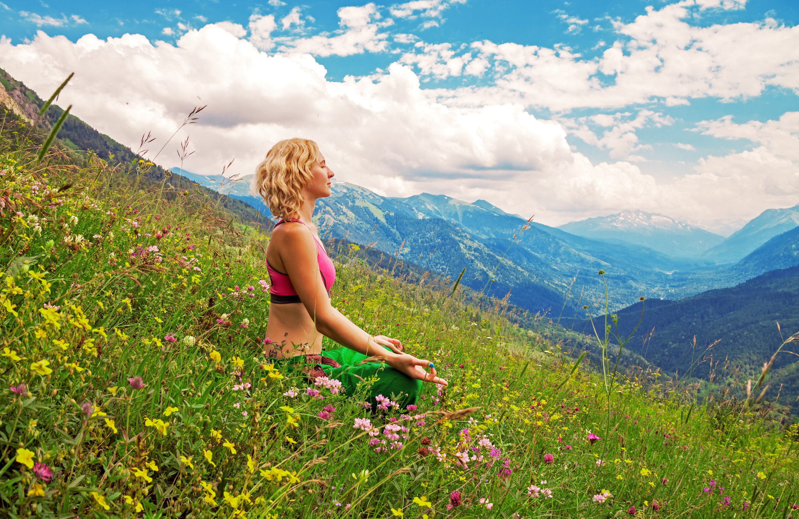 Yoga retreat Switzerland